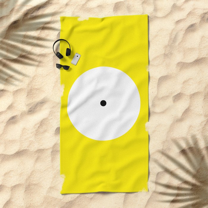 This is the point Beach Towel
