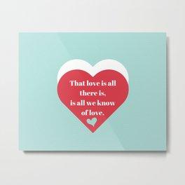 Saint Valentine's Day Metal Print