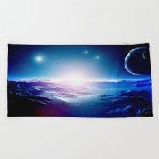 Space Beach Towel