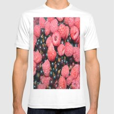 Summer Fruits Mens Fitted Tee White MEDIUM