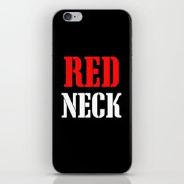 RED NECK iPhone Skin