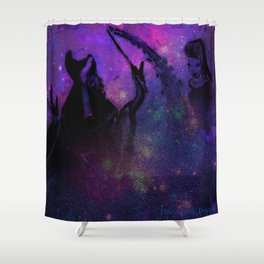 The Godmother Shower Curtain