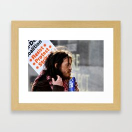 The Resistance Framed Art Print
