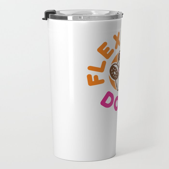 Flexin Donuts Travel Mug