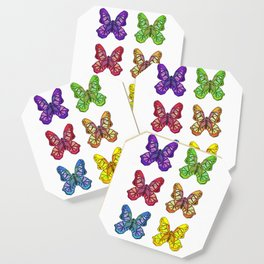Bejeweled Butterflies Coaster