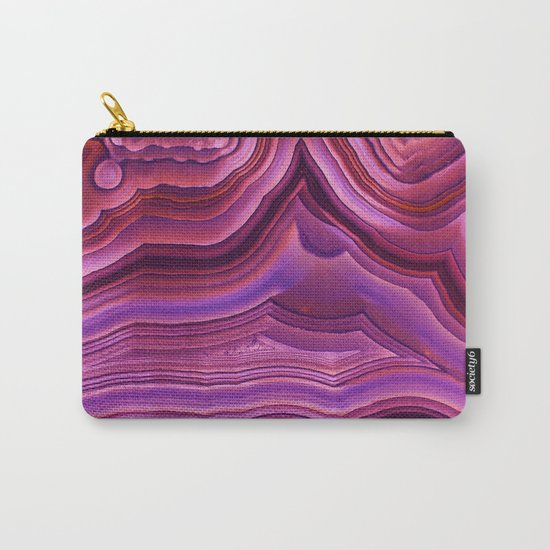 Mystic agate stone Carry-All Pouch