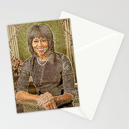 Michelle in Mosaic Stationery Cards