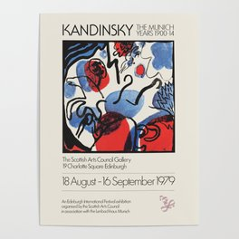 Wassily Kandinsky - Exhibition poster for The Scottish Arts Council Gallery ,1958 Poster