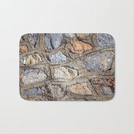 Cobblestones Cladding Wall Bath Mat