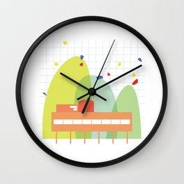 architecture - le corbusier Wall Clock
