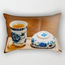 Tea Ceremony Rectangular Pillow