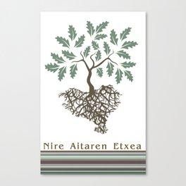 EUSKAL HERRIA aritza Canvas Print