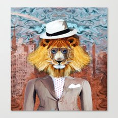 mister Lion Canvas Print