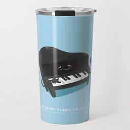 The happy piano Travel Mug