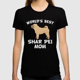 World's Best Shar Pei Mom T-shirt