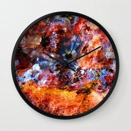 Color Ooze Wall Clock