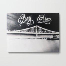 California Bay Bridge Metal Print