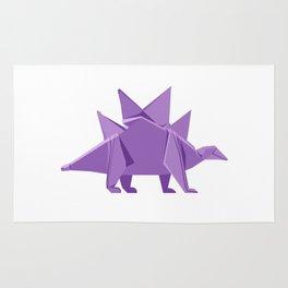 Origami Stegosaurus Rug
