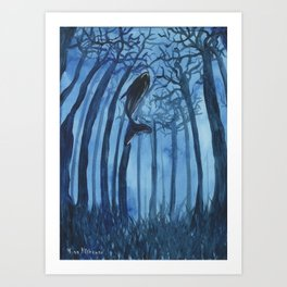 Moby´s Forest Art Print
