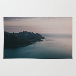 Fjord - Landscape and Nature Photography Rug