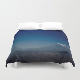 Ararat Mountain  Duvet Cover