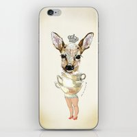 bambi iPhone & iPod Skins featuring Bambi  by Iria do Castelo