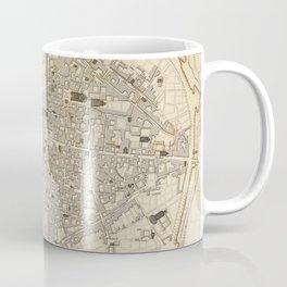 Vintage Map of Parma Italy (1840) Coffee Mug