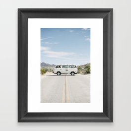California Westafalia Framed Art Print