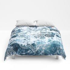 Ocean Mandala - My Wild Heart Comforters