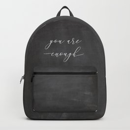 You are enough Backpack
