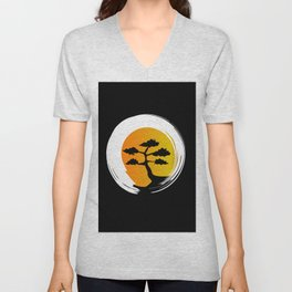 Zen Tree Unisex V-Neck