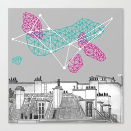 The Rooftop Canvas Print