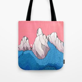 Mount forestmore Tote Bag