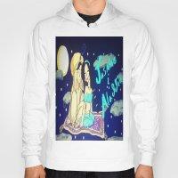 aladdin Hoodies featuring Jasmine & Aladdin  by NayomiArt