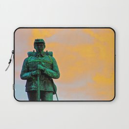 A Soldier's Sunset Laptop Sleeve