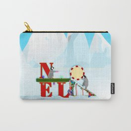Penquin Chicks: Noel Preparation Carry-All Pouch