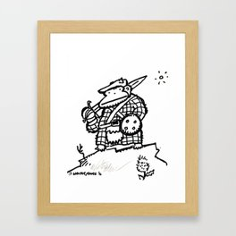 Jacobite Rebellion Ape Framed Art Print