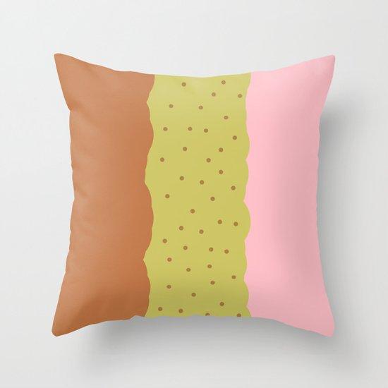 Spumoni  Throw Pillow