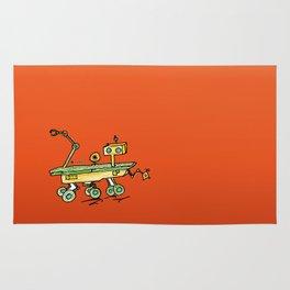 Curiosity, the rover Rug