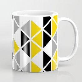 Triangular Vitrail Mosaic Pattern V.01 Coffee Mug
