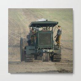 Gun Tractor  Metal Print