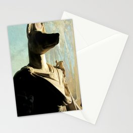 Gone to meet Anubis. Stationery Cards