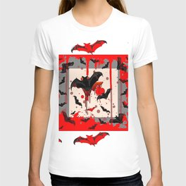 FREAKING HALLOWEEN BLOODY BAT PARTY T-shirt
