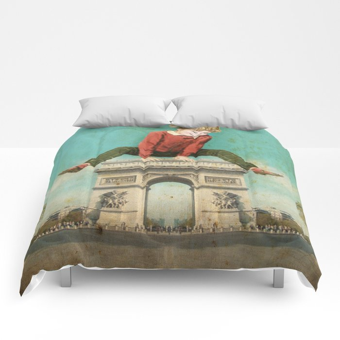 Parisian leapfrog  Comforters