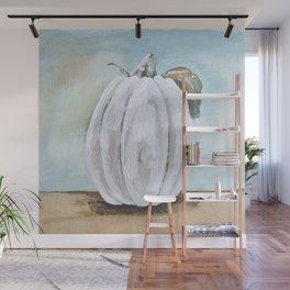 Tall white pumpkin Wall Mural