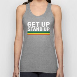 Get Up Stand Up / Rasta Vibrations Unisex Tank Top