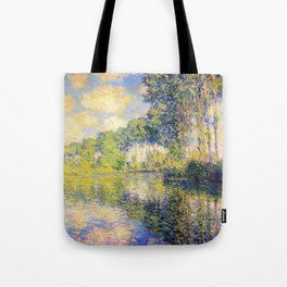 12,000pixel-500dpi - Claude Monet - Poplars on the Epte - Digital Remastered Edition Tote Bag