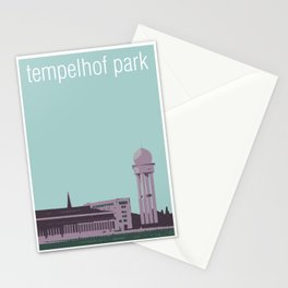 Tempelhof Park, Berlin Stationery Cards