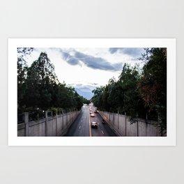 The Road of Colorado Springs 2/4 Art Print
