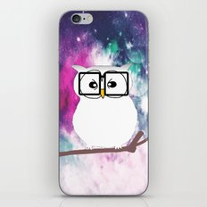 owl-38 iPhone & iPod Skin